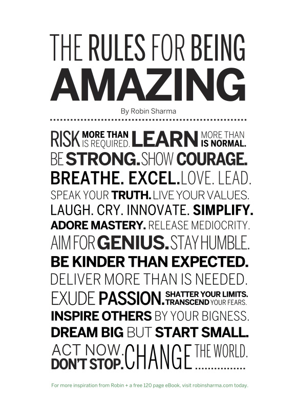 the-rules-for-being-amazing