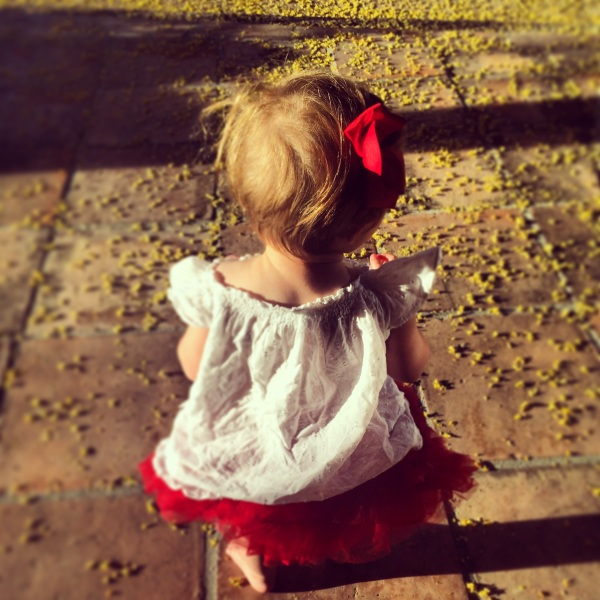 Thank you for her.  She is such a gift to us all.  Happy 1st Birthday, Poppy Roo. We love you, Ronan.